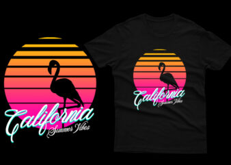 Flamingo California Summer Vibes