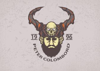 Tribal Chief T-shirt Design