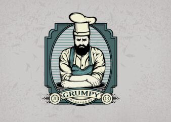 Chef T-shirt Design