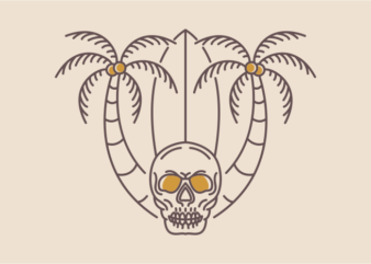 Aloha Summer Skull 2