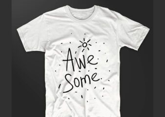 Awesome hand drawn mono line T-shirt design vector, Sun unique Authentic Artistic T shirt designs Slogan . Eps psd svg png file