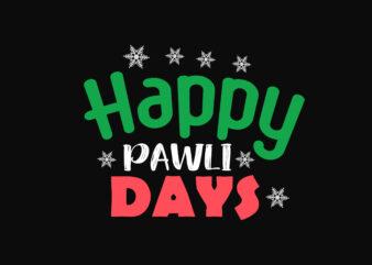 Happy Pawly Days