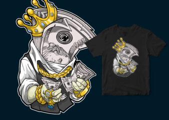The money king, Hype T-shirt design
