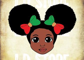 Black History (1) SVG for Kids, Cute Black Girl SVG, Afro svg, Little Girl Svg, Strong svg, Powerful svg, Beautiful svg, Queen svg