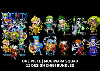 ONE PIECE WANO KUNI, 11 CARACTER DESIGN BUNDLES
