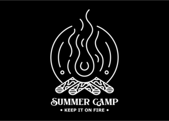 Summer Camp Fire