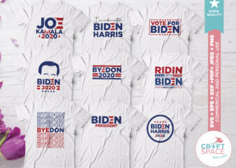 BIDEN SVG Bundle svg, dxf, pdf , eps, png, jpeg. Cutting File for Cricut Explore Silhouette Cameo Studio