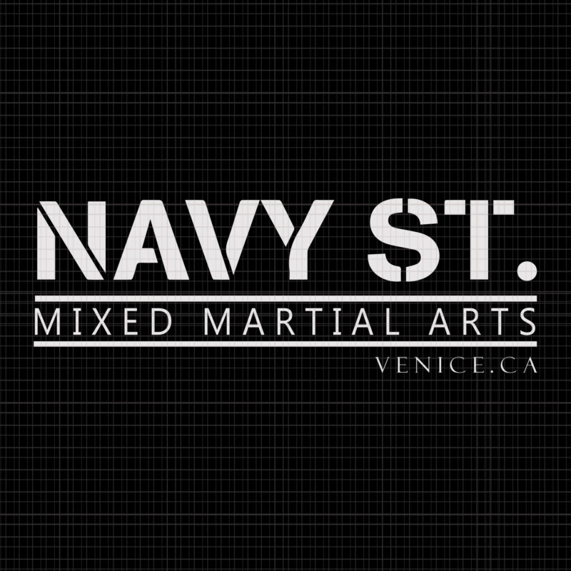 Navy St Mixed Martial Arts Venice Navy St Mixed Martial Arts Venice Svg Navy St Mixed Martial Arts Venice Png Eps Dxf Ai File Buy T Shirt Designs
