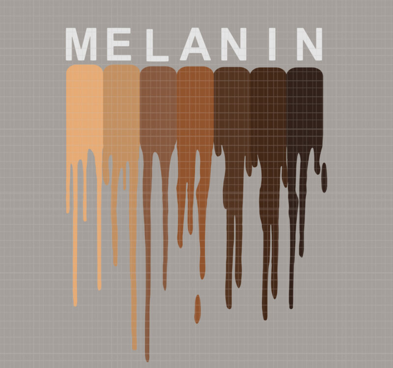 Download I Love Melanin Svg DXF