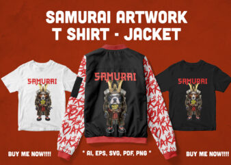 Samurai Artwork T-shirt