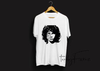 Jim Morrison Tshirt Design