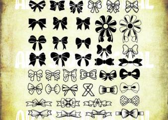 41 Styles Bow Tie Svg Bundle , Bow SVG file, Bow vector, Bow clipart, Bow svg bundle, Cheer Bow Svg, Cricut Cut Files , Silhouette Studio Cut Files ,bows svg