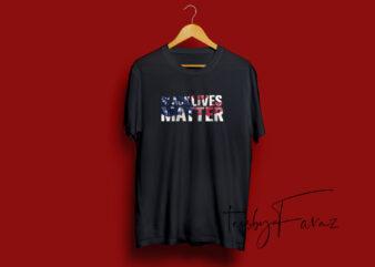 Black Lives Matter Tshirt Design
