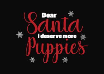 Dear Santa More Puppies