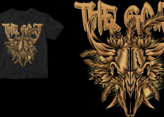 the goat skull
