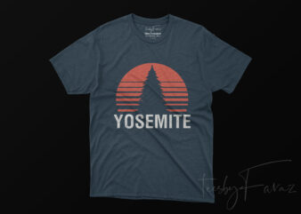 Yosemite Best Seller Design with high res png