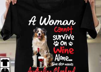 1 DESIGN 30 VERSIONS – A woman can not survive on wine alone