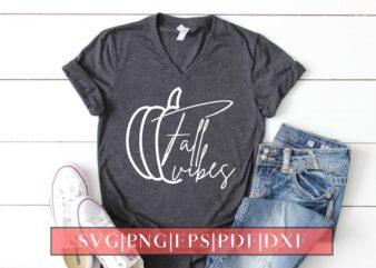 Fall Vibes Tshirt Design