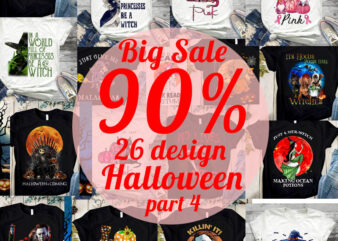 Big Sale Halloween PNG, Happy Halloween PNG, Movies PNG, Witches PNG, Cancer PNG Digital Download
