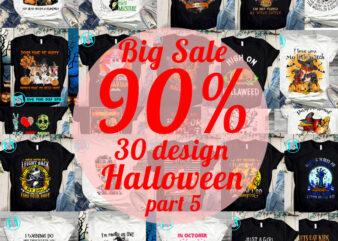 Big Sale Halloween PNG, Happy Halloween PNG, Jack Skellington PNG, Witch PNG, Digital Download