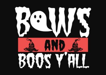 Bows Ya'll Halloween