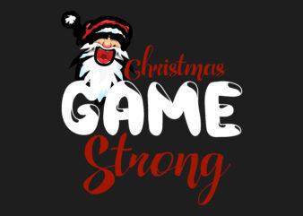 Christmas Game Strong