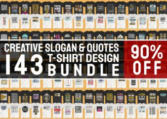 Quotes bundle t-shirt design. Motivational, inspirational, sayings, Slogan, Funny, urban style, typography t shirts designs pack collection