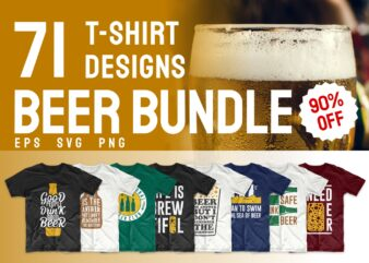 Beer t-shirt designs bundle svg. Beer t shirt design png bundles. Alcohol t shirt design. Drinker t shirts design. Slogans quotes sayings about beer. Beer theme vector pack collection.