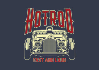 HOTROD FAST AND LOUD DARK Version
