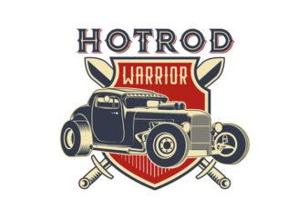 HOTROD WARRIOR FULLCOLOR