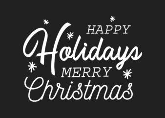 Happy Halidays Christmas