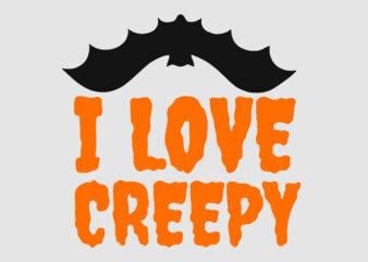 I Love Creepy