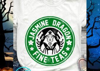 Jasmine Dragon Fine Teas SVG, Starbucks SVG, Coffee SVG, Jasmine Dragon SVG