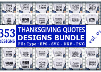 Best Selling Thanksgiving Quotes Tshirt designs Bundle