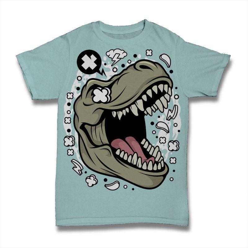 30 Animal Cartoon Tshirt Designs Bundle