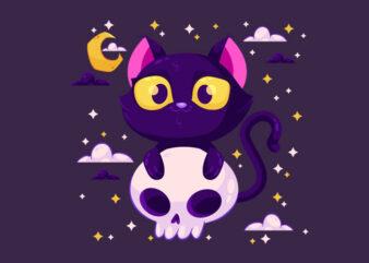 cat happy halloween3
