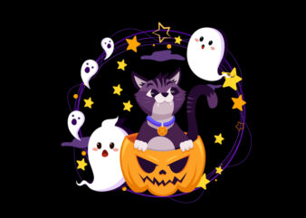 cat happy halloween4