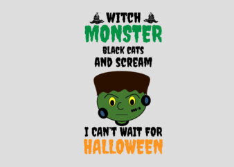 Witch Monster Halloween