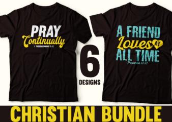christian bundle tshirt design | Religious tshirt Bundle | Christian Designs | Psalm Quotes | Faith Quotes