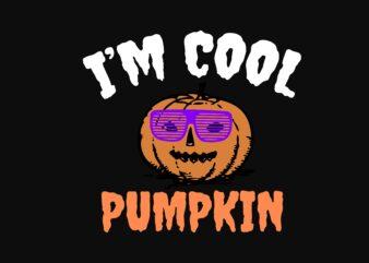 Cool Pumpkin Halloween