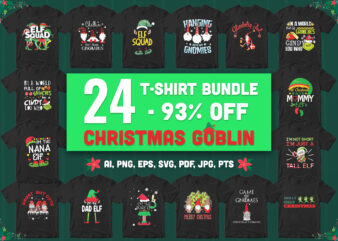 24 special christmas goblin bundle – 93% off – all style!!!