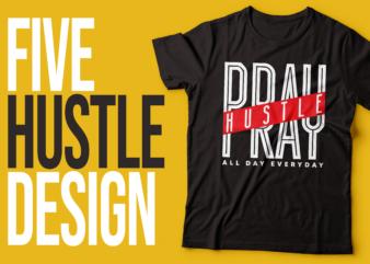 five hustle based typography designs |design for hustlers