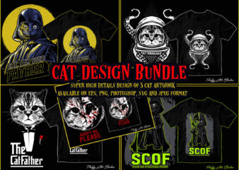 Cat design bundle