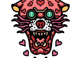 pinky love panther tshirt design
