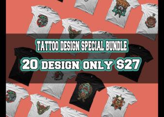 tattoo design special bundle tshirt design