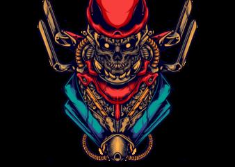 skull cyberpunk