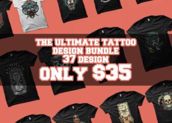 the ultimate tattoo design bundle