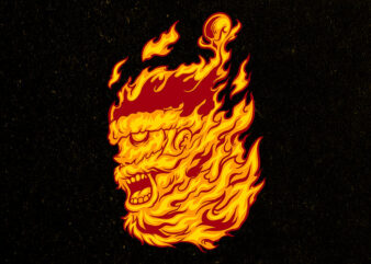 flame of santa