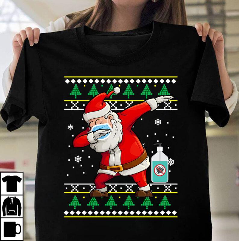Christmas and Corona Pandemic Bundle Part 1 – 50 Designs – 90% OFF