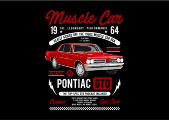 Muscle Car – Pontiac GTO